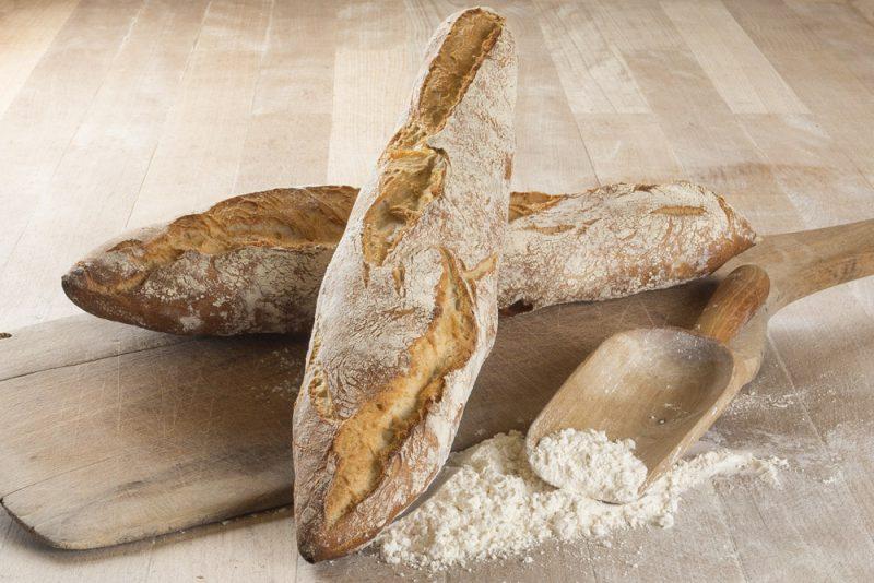 biologisch desem baguette wit speltbrood bestel online bakkerij Aroma